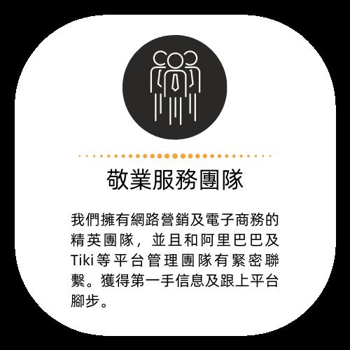 金品網路行銷顧問有限公司優勢_敬業服務團隊