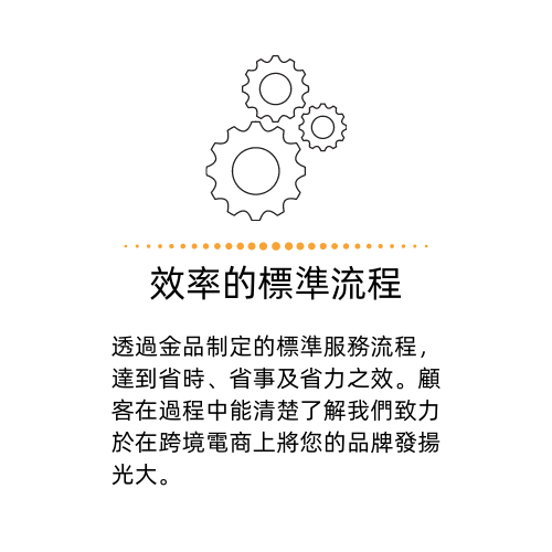 金品網路行銷顧問有限公司優勢_效率的服務流程